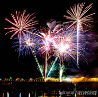 Bundy Fireworks Event